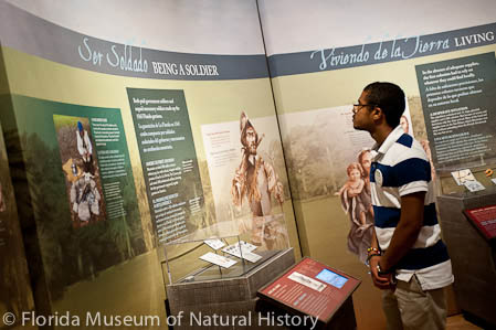 Photo of Museum's First Colony Exhibit